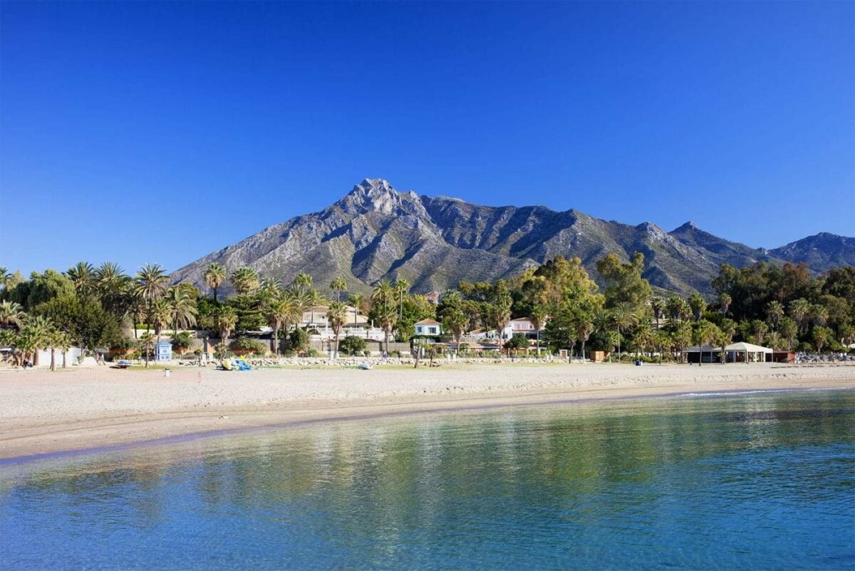 Marbella beach - Costa del Sol - Spain
