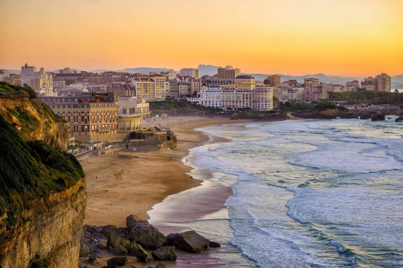 Best places to live in France: Biaritz