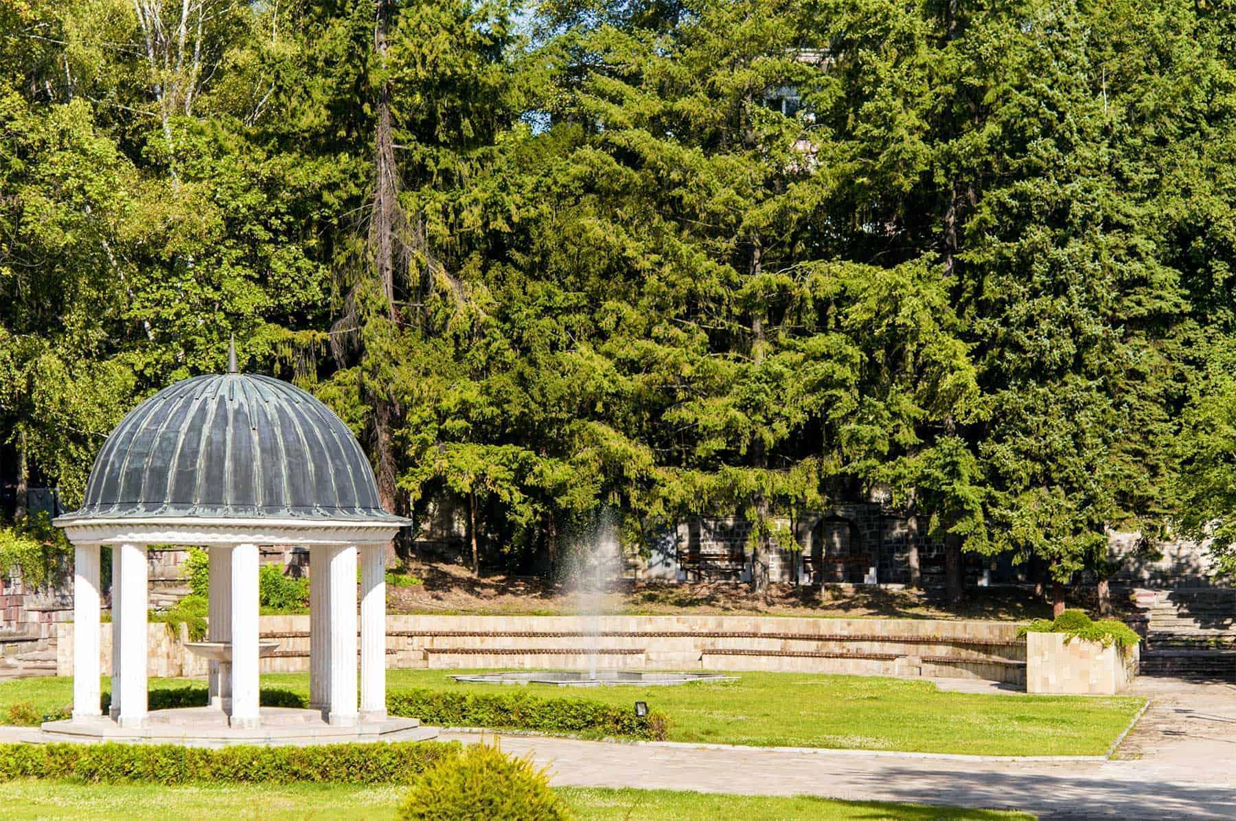 Bankya city park - Bulgaria