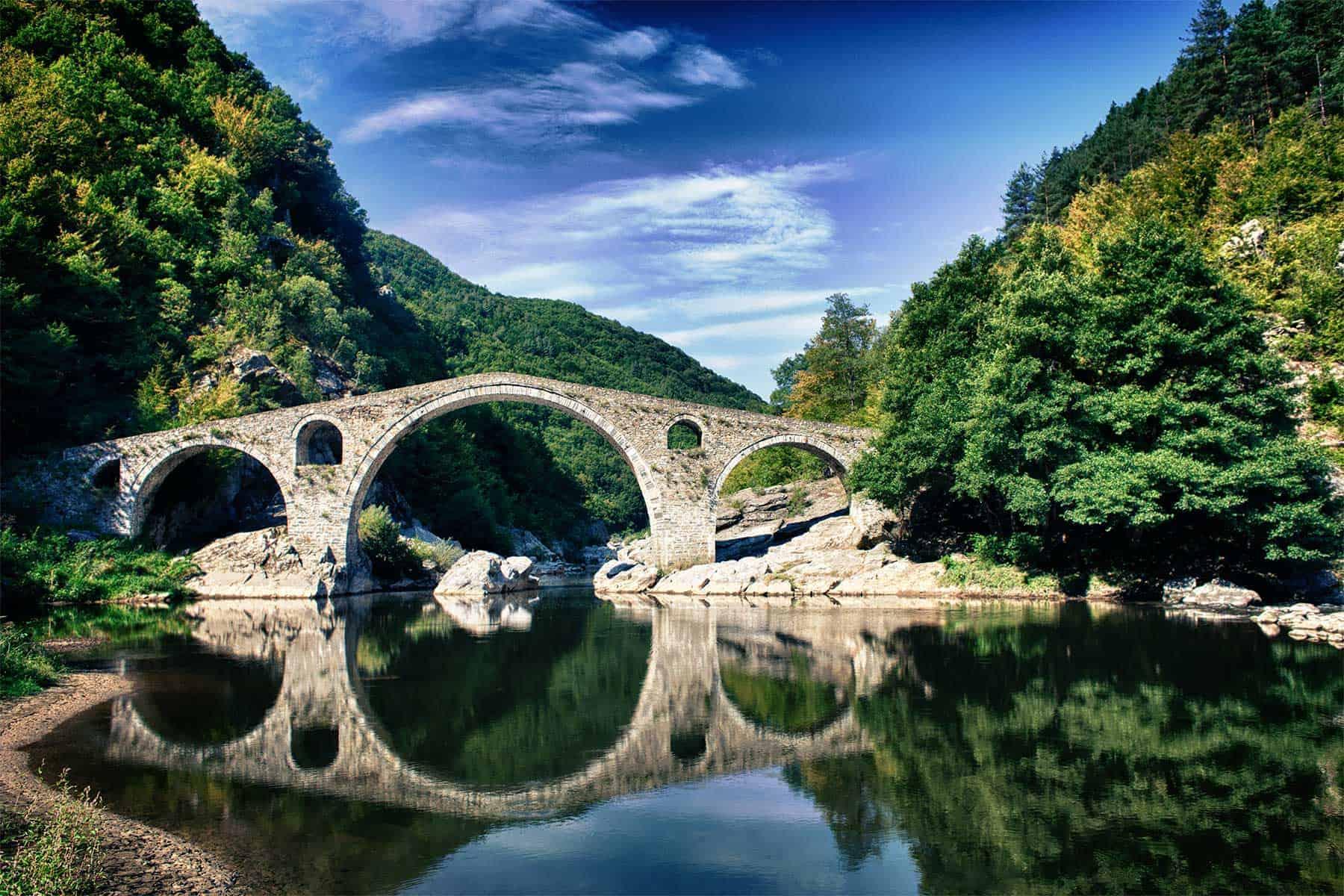 The Devil's Bridge in Ardino - Bulgaria