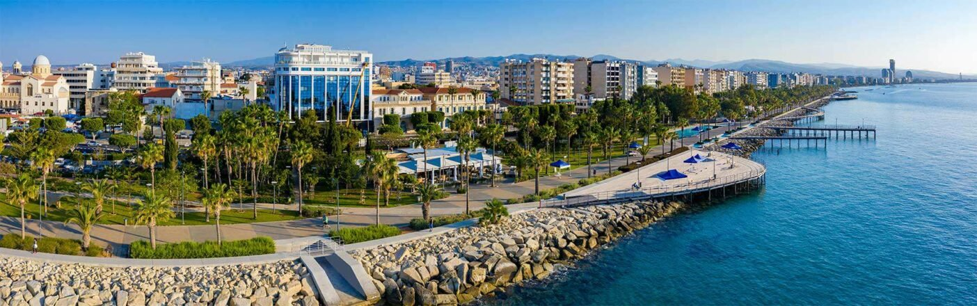 Seafront views of Limassol in Cyprus