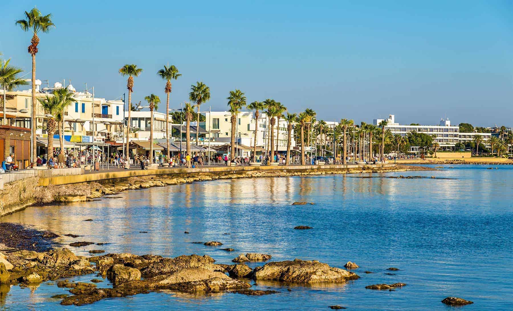 Paphos harbour view - Cyprus
