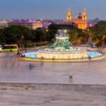 Malta. Triton Fountain
