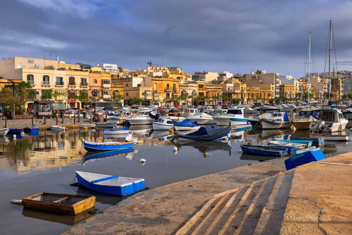 Best places to live in Malta - Ta Xbiex town houses in Malta, Msida and Ta Xbiex marina