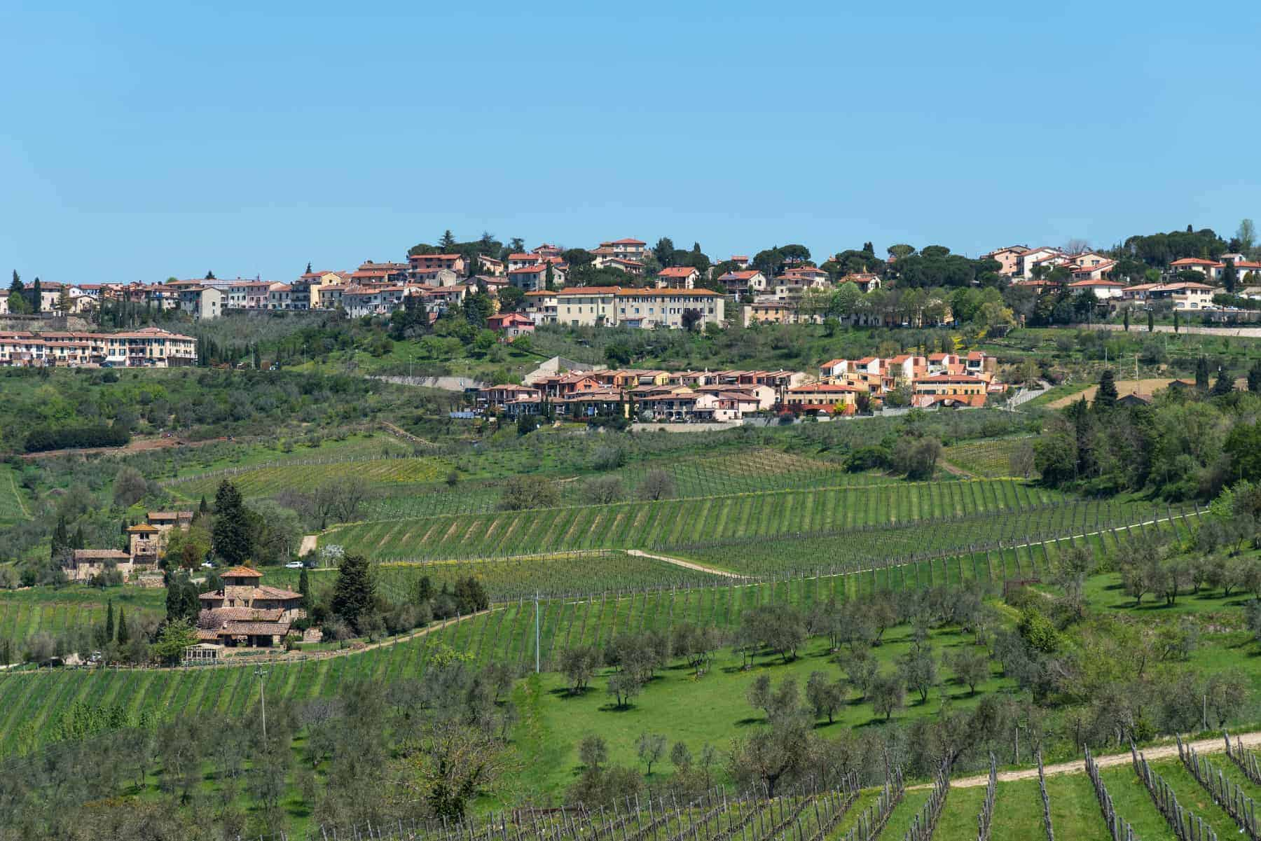 Best places to live in Italy, Chianti Area