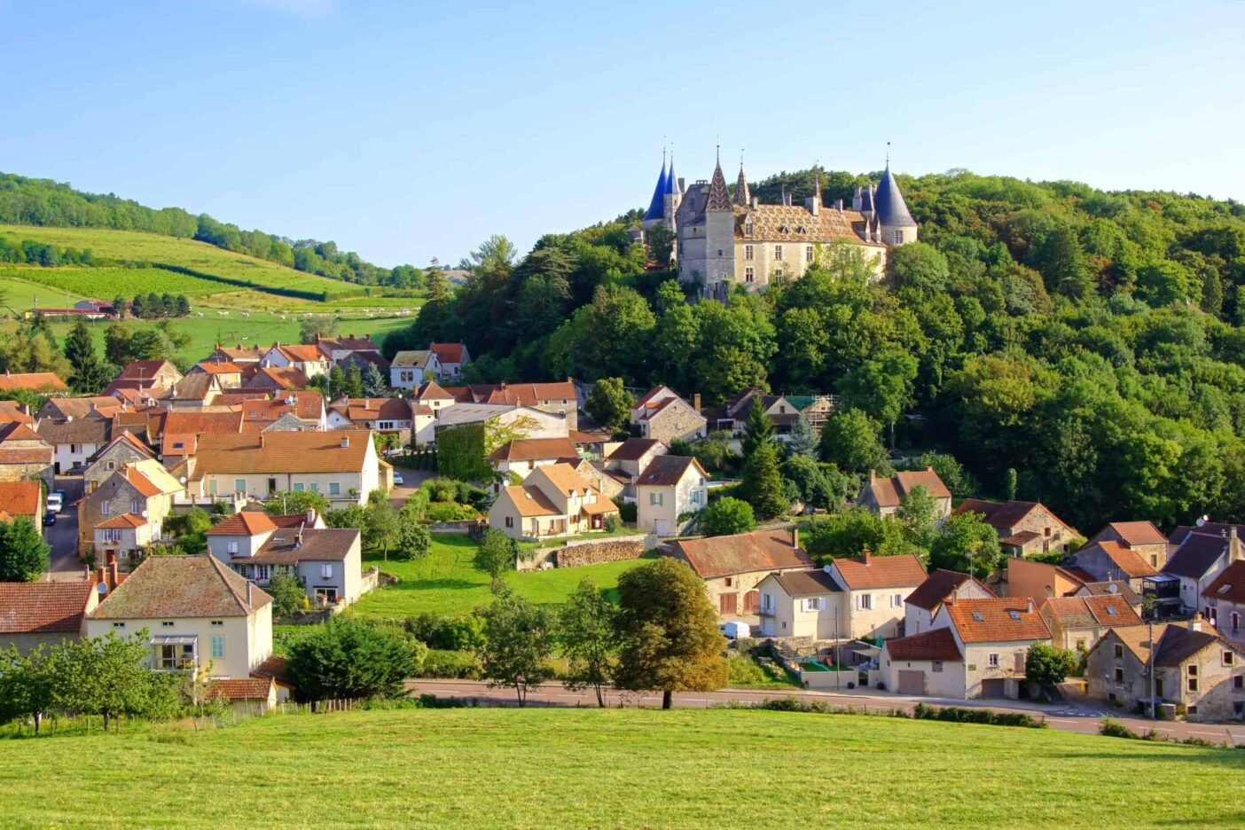 Living in Burgundy, France