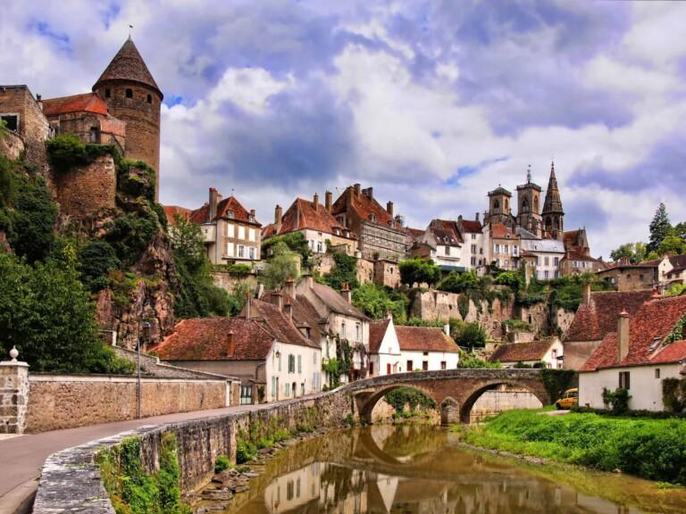 Living in Burgundy, France