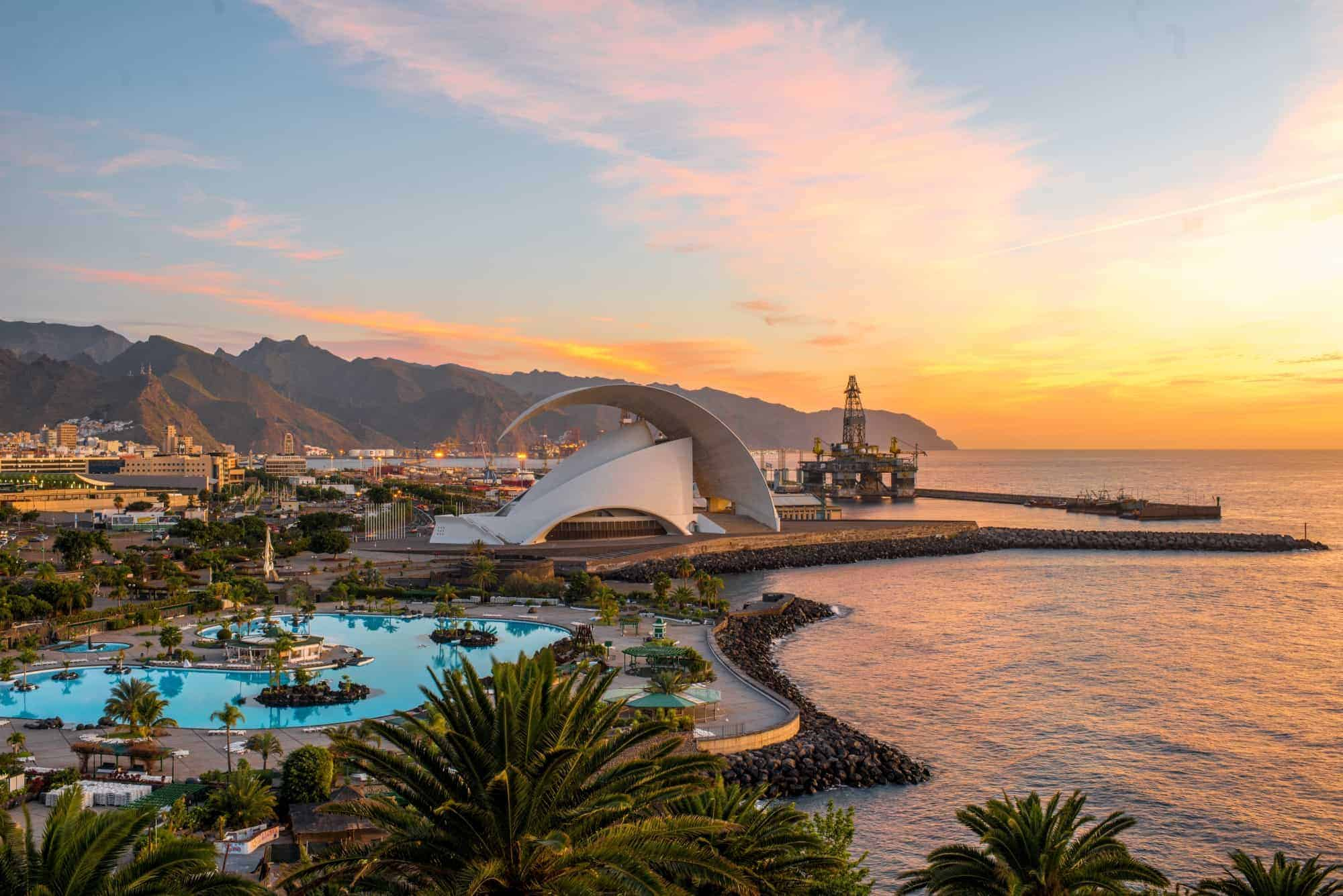 living in the Canary Islands