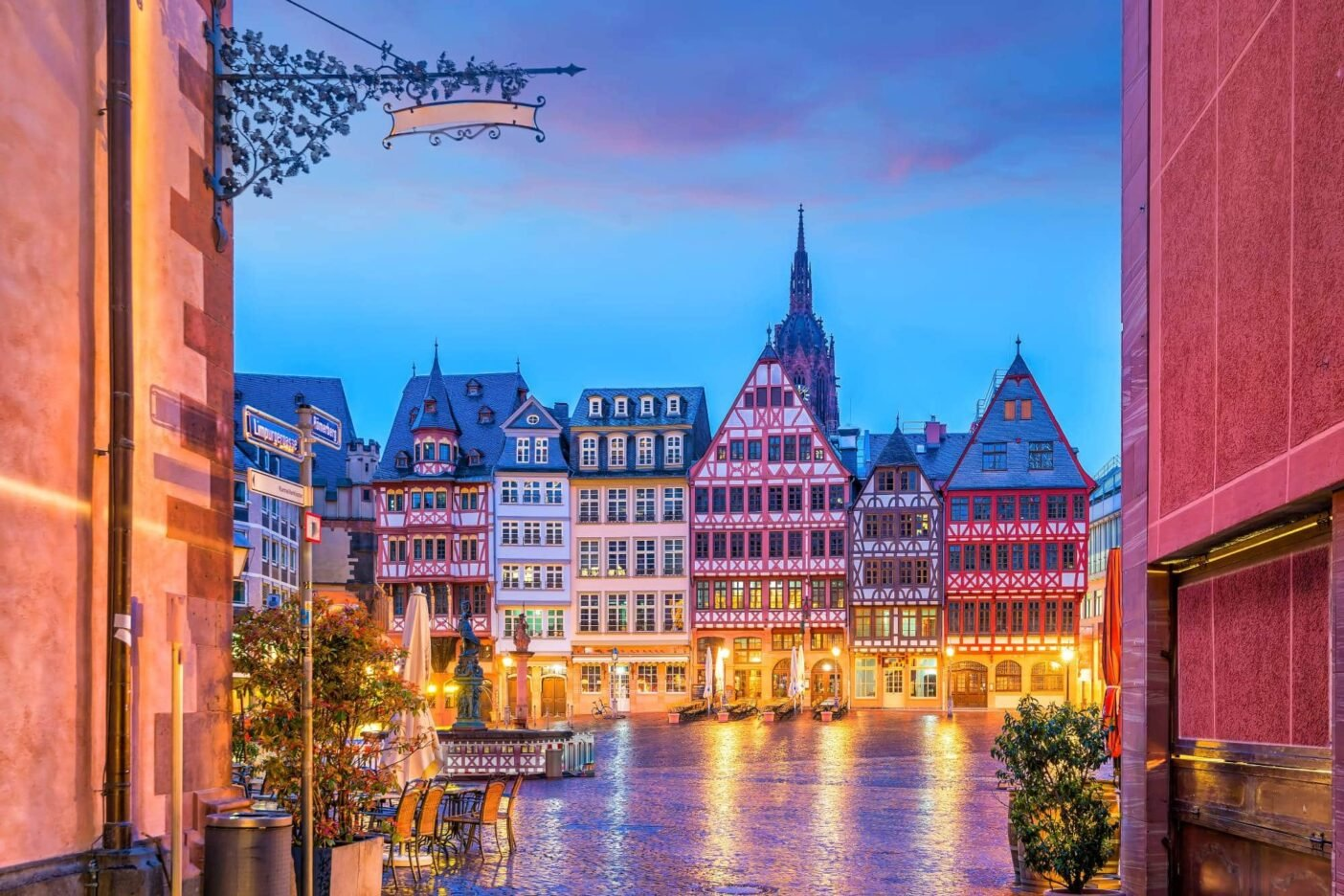 Best places to live in Germany - Frankfurt